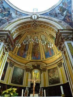 初夏のイスキア島で優雅なバカンス♪ Vol31(第5日目午前) ☆プローチダ島:Castel Vascelloの修道院「San Michele」の美しい大聖堂を鑑賞♪