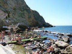 初夏のイスキア島で優雅なバカンス♪ Vol43(第6日目午前) ☆イスキア島サンタンジェロ:天然露天風呂「Sorgeto」で絶景を眺めながら優雅に温泉に浸かる♪