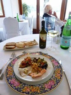 初夏のイスキア島で優雅なバカンス♪ Vol55(第7日目夜) ☆イスキア島サンタンジェロ:「パーク・ホテル・ミラマーレ」のメインダイニングで最後のディナー♪
