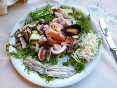 初夏のイスキア島で優雅なバカンス♪ Vol66(第8日目夜) ☆ナポリ:「Grand Hotel Santa Lucia」の真ん前にあるレストラン「La Bersagliera」で優雅なディナー♪