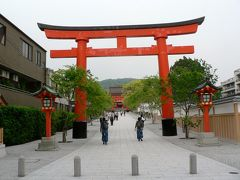 日本の旅 関西を歩く 京都市、伏見稲荷大社(ふしみいなりたいしゃ)と藤森神社(ふじのもりじんじゃ)