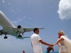 サン・マルタン島(1)衝動的にマホビーチ