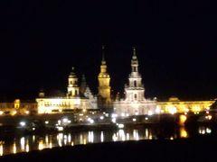 ドレスデンへ(4日目)−ドレスデンの夜景