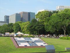 新橋駅~東京駅迄のウォーキング①久しぶりに新緑の日比谷公園を歩く