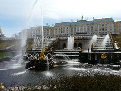 2012GW ロシア旅行記(4)エカテリーナ宮殿とペテルゴフ