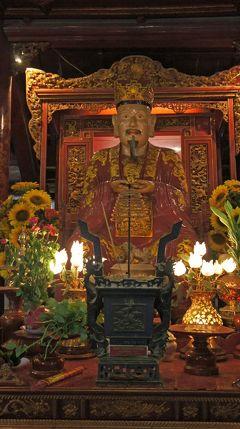 灼熱!河内之旅(4)ハノイでレーニン像に出会い、誰もいない早朝のホーチミン廟辺りを散歩して、文廟に参拝してインドシナでベトナム料理を楽しむ。