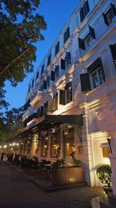 灼熱!河内之旅(8)ハノイ最後の晩は憧れのソフィテル・レジェンド・メトロポールで優雅に過ごす。