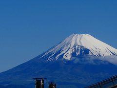 久しぶり・・・五月晴れの富士山