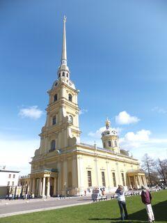 2012GW ロシア旅行記(5)ペトロハブロフスク要塞からモスクワへ