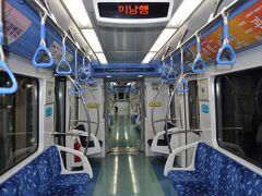 2012年5月韓国鉄道旅行3(釜山地下鉄4号線)