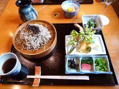 初夏の上高地♪ Vol2(第1日目昼) ☆上高地帝国ホテルの「あずさ庵」でお蕎麦を頂く♪お部屋はテラス付きのツインルーム♪