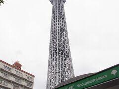 東京スカイツリーに登りました!!(2012年6月)