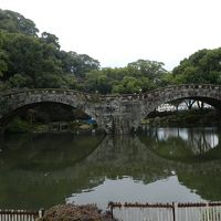 諫早公園の眼鏡橋と大寒桜◆2012早春の長崎県旅行≪その12≫