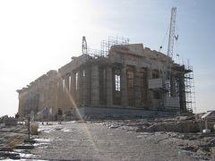 神殿はアテネのランドマークそして世界遺産のシンボル