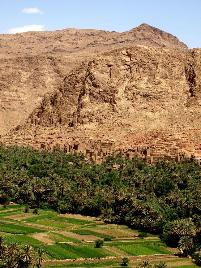 サハラ砂漠を目指してモロッコ一人旅2*・゜・*砂漠への道/カスバ街道*・゜・*