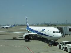 2012年5月韓国鉄道旅行10(羽田空港からANA便で帰途)