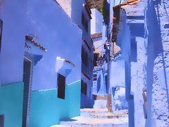 サハラ砂漠を目指してモロッコ一人旅7*・゜・*青いオアシス/シャウエン*・゜・*