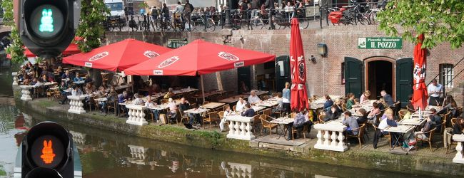 ミッフィーと運河沿いのカフェで有名なユ...
