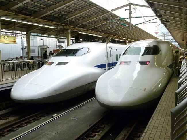 東京駅16・17番線(東海道新幹線)ホームの階段 …