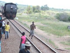鉄道とバスでジンバブエ国内移動