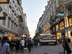 2011年オーストリア旅行記 その2 夜のウィーンのリンクをトラムで1周