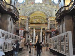2011年オーストリア旅行記 その7 世界一美しい図書館 国立図書館プルンクザール