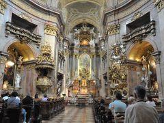 2011年オーストリア旅行記 その8 ウィーンのグラーベンを歩き、巨大カツレツを食べる