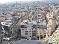 2011年オーストリア旅行記 その9 ウィーンのシュテファン寺院の塔に登る