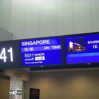 シンガポール・インドネシアの旅(1:SQ11便で出国編)