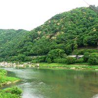 日本の旅 関西を歩く 京都府笠置町(かさぎちょう)笠置山自然公園周辺