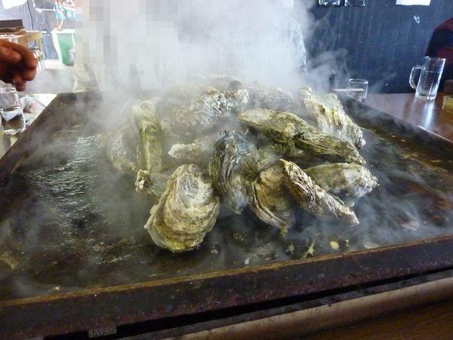 日帰りで道南の日本海側をドライブ。寿都町に焼き牡蠣食べ放題のお店が2011年に出来たということで、食べに行ってきました。<br />ついでに道の駅にも寄って道の駅スタンプラリーのスタンプを押してきました。