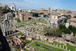 ローマ4泊6日・古代ローマの面白さに目覚めた旅 【2】コロッセオとフォロ・ロマーノ