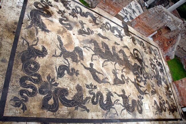 ローマ4泊6日・古代ローマの面白さに目覚めた旅 【3】オスティア遺跡