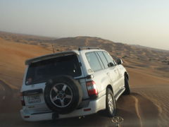 UAE ドバイ 砂漠のアトラクション デザートサファリ 2011冬