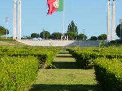 優雅なポルトガル旅・憧れのマデイラ島でバカンス♪ Vol5(第2日目午前) ☆リスボン:朝の美しいエドゥアルド7世公園とポンバル伯爵広場♪