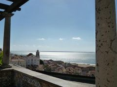 優雅なポルトガル旅・憧れのマデイラ島でバカンス♪ Vol11(第2日目午前) ☆リスボン:アズレージョの美しい「サンタ・ルジア展望台」から美しい景色を眺めて♪