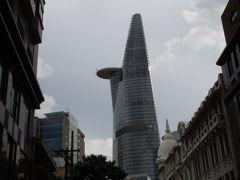 ベトナム ホーチミン一番の高層ビルからの夜景 ビテクスコ フィナンシャルタワー 2012夏