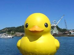 ~海フェスタおのみち2012~ ビストロ旬亭でランチ後、帆船「海王丸」と巨大なアヒルに逢いに!