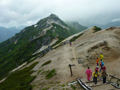 燕山荘(えんざんそう)に泊まった、北アルプス・燕岳(つばくろだけ)登山①