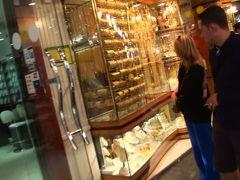 UAE ドバイ 黄金の商店街 ゴールドスーク 2011冬