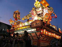 弾丸トラベラー 東北の夏(立佞武多~ねぷた~竿燈) 2005年 その1