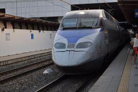 2012年7月Peachで行く韓国鉄道旅行7(KTXで馬山・釜山へ)