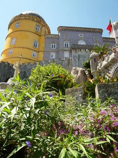 優雅なポルトガル旅・憧れのマデイラ島でバカンス♪ Vol16(第2日目午後) ☆シントラ:ロカ岬からペーナ宮殿へ♪おとぎのような宮殿に感動♪