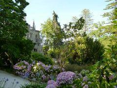 優雅なポルトガル旅・憧れのマデイラ島でバカンス♪ Vol22(第2日目夕方) ☆シントラ:レガレイラ宮殿の夏の美しい庭園を鑑賞♪