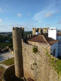優雅なポルトガル旅・憧れのマデイラ島でバカンス♪ Vol36(第3日目午後) ☆オビドス:黄昏のオビドスを散策♪古城ホテル「ポザーダ・ド・カステロ」の城壁の上で優雅に過ごす♪
