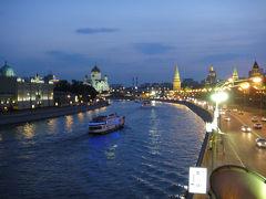モスクワ川渡れ・真夏のリバークルーズ ~2011年夏コーカサス3か国+モスクワ旅行・20~