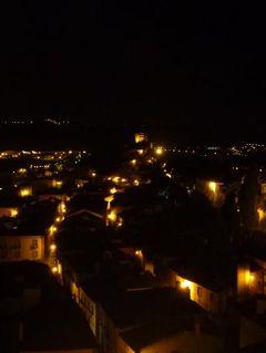優雅なポルトガル旅・憧れのマデイラ島でバカンス♪ Vol39(第3日目夜) ☆オビドス:古城ホテル「ポザーダ・ド・カステロ」の城壁の上から美しい夜景を楽しむ♪
