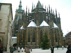 2005年大晦日~2006年お正月 雪のプラハ ヴィート大聖堂