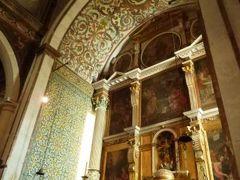 優雅なポルトガル旅・憧れのマデイラ島でバカンス♪ Vol42(第4日目午前) ☆オビドス:アズレージョの美しい「サンタ・マリア教会」を鑑賞♪