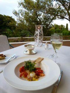 優雅なポルトガル旅・憧れのマデイラ島でバカンス♪ Vol55(第4日目夜) ☆リスボン:貴族館のホテル「ラパ・パレス」のレストランテラスで優雅なディナー♪そして幻想的な夜景を楽しむ♪